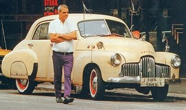 <b>Rock n Roll George and his much beloved FX Classic Holden Car </b>