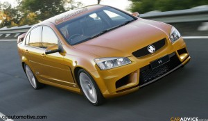 The new VF Holden Commodore due to launch late in 2010